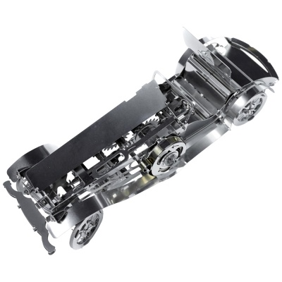 [3D퍼즐마을][타임포머신] T4M380112 실버 카브리오 2