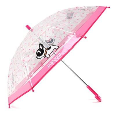 팬콧 팝바우 패턴 53 비닐 장우산 여아 자동 7세이상