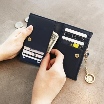 D.LAB Coin Card wallet  - Navy