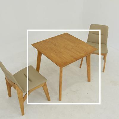 요모 원목 2인 식탁 테이블