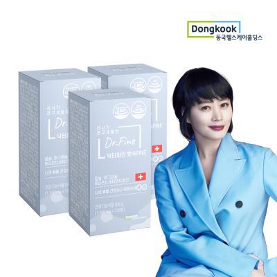 닥터화인 뼛속Fine/칼슘 (1300mg x 120정) 3개