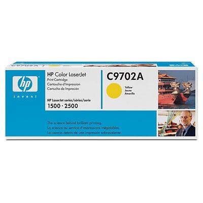 HP C9702A Y 토너