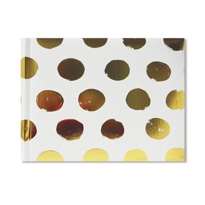 홀마크 200P 북바운드 앨범 Gold Foil Polka-dot 2-Up Album-EDY2165