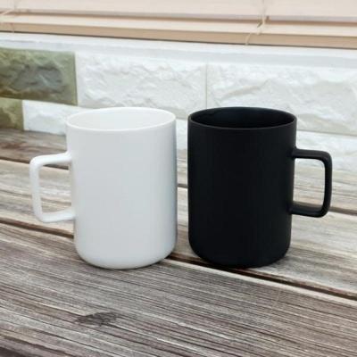 아트웨어 블랙앤화이트 머그 2p 까페 커피숍 음료