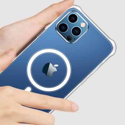 아이폰12 MINI PRO MAX 맥세이프 투명 실리콘 케이스