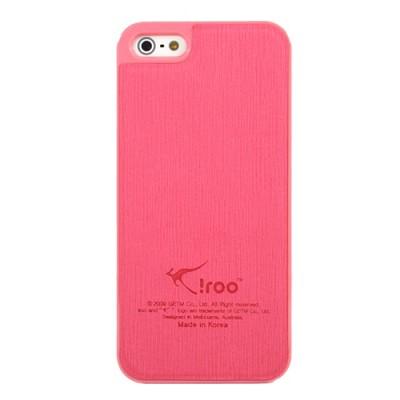 아이루 iroo 아이폰5 슬림가죽케이스 5컬러풀 iPhone5 LC4I5(핑크)