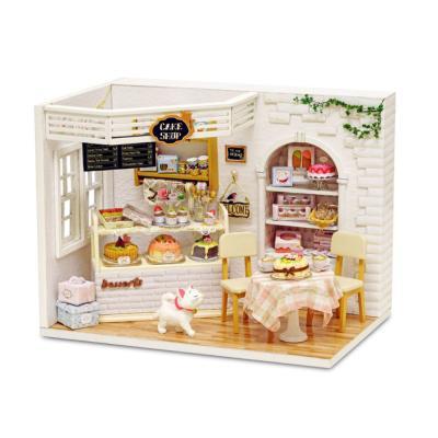 [adico]DIY 미니어처 하우스 - 케익카페