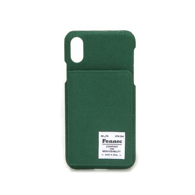 FENNEC C&S iPHONE X/XS POCKET CASE - GREEN