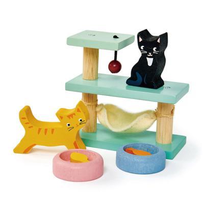 [무료배송][텐더리프]굿우드 고양이집사 하우스