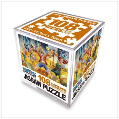 원피스 직소퍼즐 미니 Cube 108pcs: 보물더미