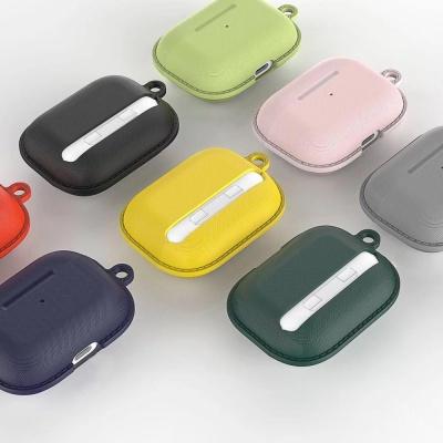 에어팟프로케이스 1 2세대 심플 실리콘 철가루스티커