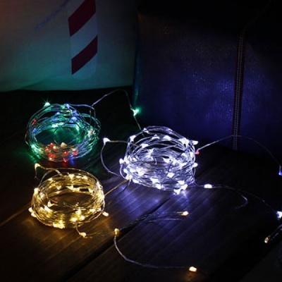 [2HOT] LED 50P 드럼 투명선 10M