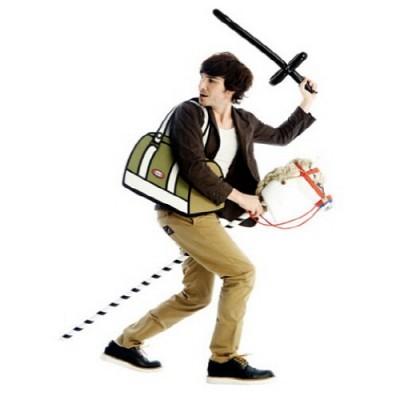 점프프롬페이퍼Jump From Paper -Tank 2D가방 만화 가방 패션 가방 태블릿pc 수납
