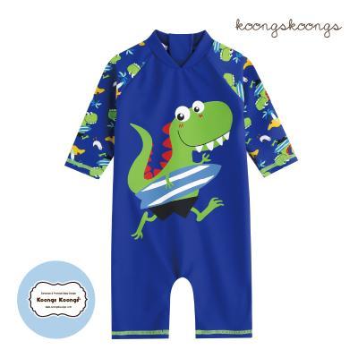 [베이비수영복] 디노서핑풀수영복 영유아수영복 수트수영복