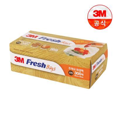 [3M]후레쉬 위생백 중형 300매