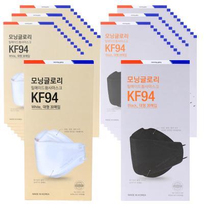 모닝글로리 황사보건마스크 KF94_대형 30매입