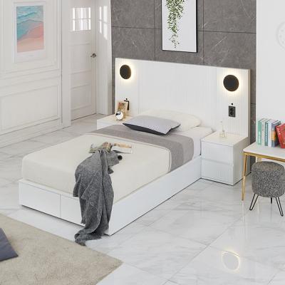 M5154 템바보드 호텔식 Q 침대세트