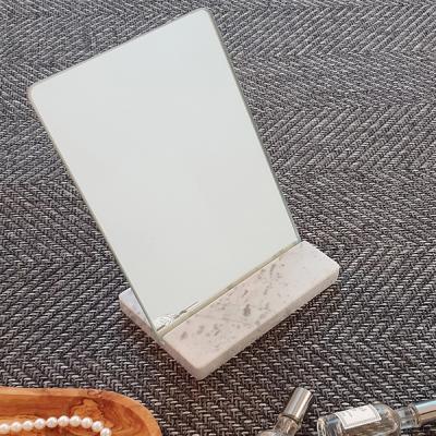 빠띠라인 대리석 받침 탁상및 손거울 겸용