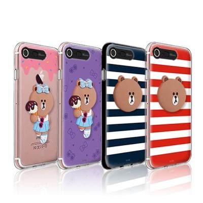 라인프렌즈 iPhone7,8/7+8+ 실리콘 라이팅 케이스