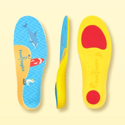 풋로직스 키즈FL 기능성깔창(어린이 인솔/아치지지)