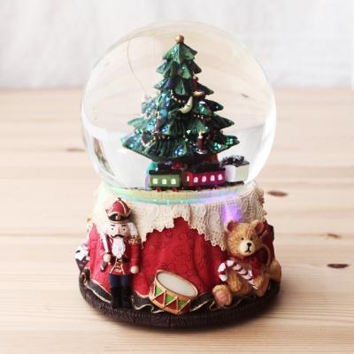 LED 워터볼 오르골-크리스마스선물기차