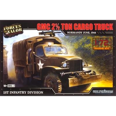 GMC 2.5톤 카고 트럭 조립킷 1944 (WTS101605KIT) GMC 2.5 Ton track