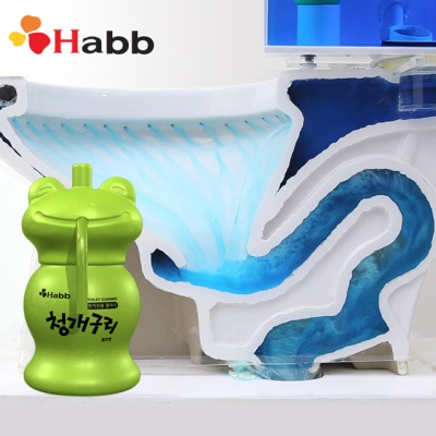 하비비 청개구리 자동 변기 세정제 1개 2개월분