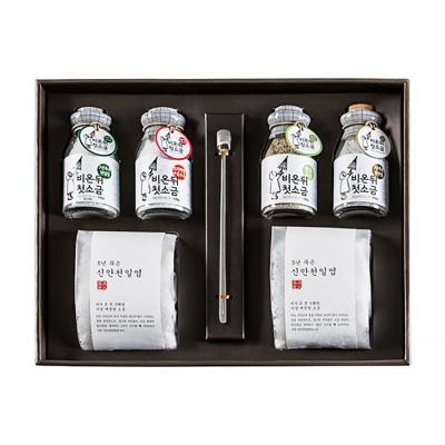 [비온뒤첫소금] 신안 프리미엄 2호 선물세트 명절선물