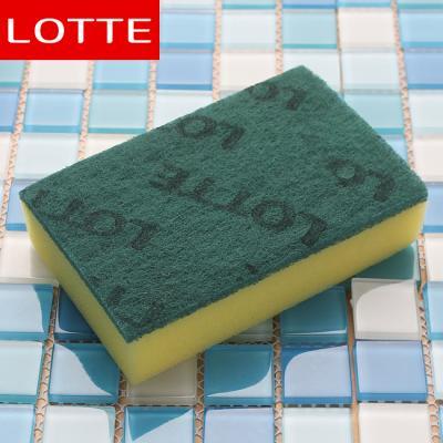 (와인앤쿡)실속형1p L  스폰지 수세미(소) (7.5cm×11.5cm)