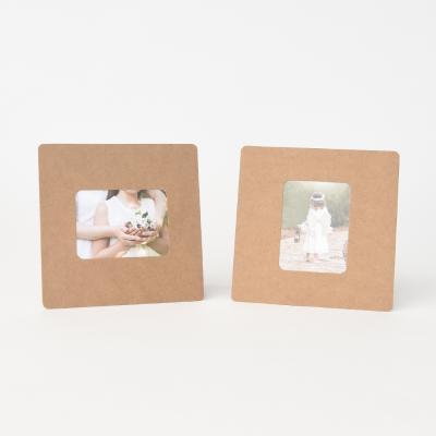 스탠딩 페이퍼프레임 - 미니 크라프트 5매 (종이액자)
