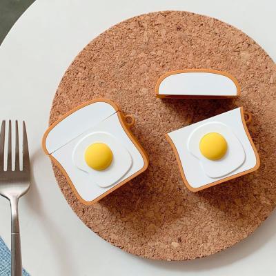 에어팟케이스 유무선 실리콘 완벽보호 식빵 ap-7667