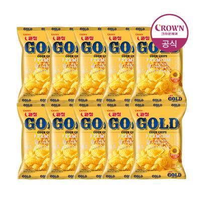 NEW 골드콘칩 56g x 10