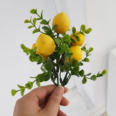 이너스 조화 과일부쉬 1P 레몬