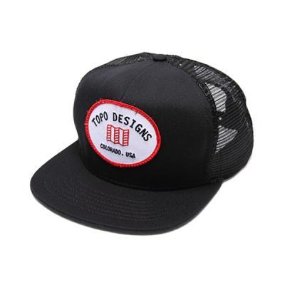 토포디자인 SNAPBACK HAT TDSBH014 (BLACK)