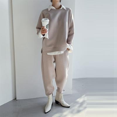 [Set] Neo Sweatshirt + Easy Baggy Pants