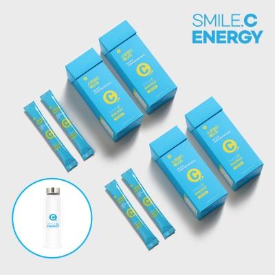 [하루한포]스마일씨 에너지레몬 4박스(2개월)+전용병