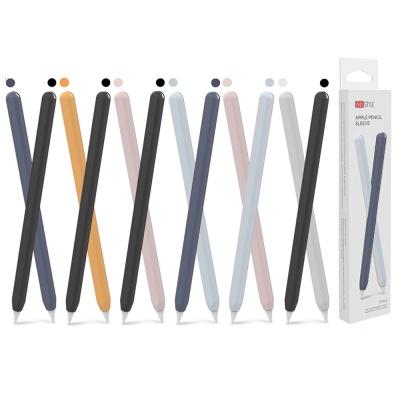 아이노비아 애플펜슬 2세대 슬림 실리콘 케이스(1+1)