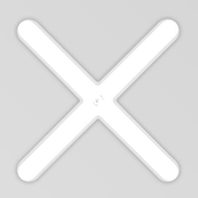 심플 LED 십자등 50W [국내산]