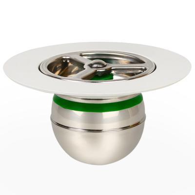 도원드레인 하수구냄새차단트랩 스텐레스 지름65mm