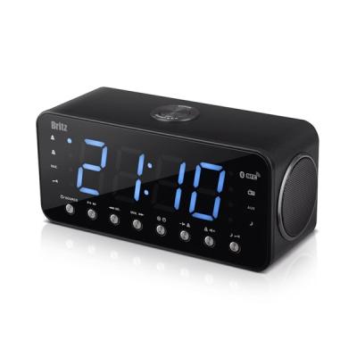 브리츠 블루투스 라디오 알람 시계 BZ-CR3713BT (FM라디오 /10M 무선컨트롤 / 듀얼알람)