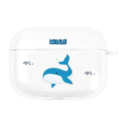 나인어클락 바다동물 에어팟프로 투명 클리어 케이스