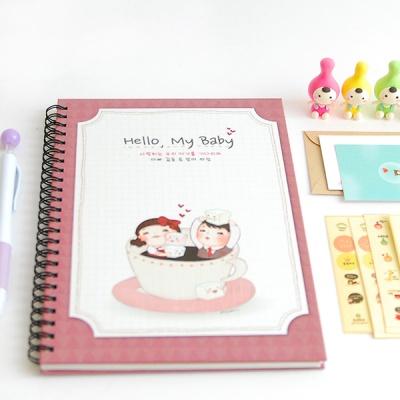 헬로우마이베이비-사랑가득 초음파앨범(임신다이어리)