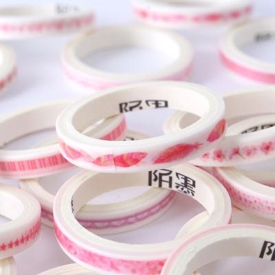디자인 마스킹테이프 20p세트(핑크)