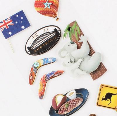 020-ss-0015 / 나라스티커 (호주)