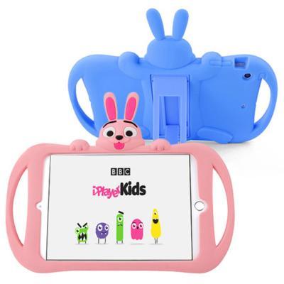 아이패드234 어린이안전 토끼 캐릭터 실리콘케이스