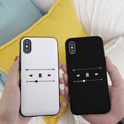 아이폰8 Music player 카드케이스