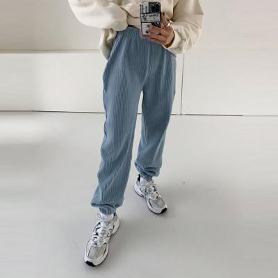 Wang Corduroy Jogger Pants - 기모안감