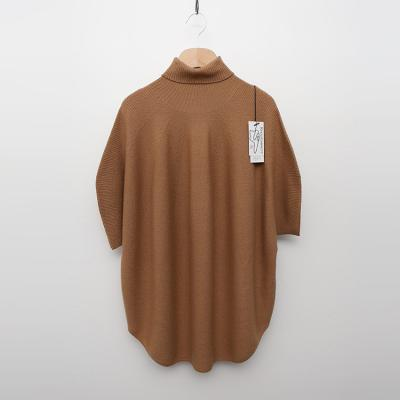 Maille Wool Moon Turtleneck Sweater - 반팔