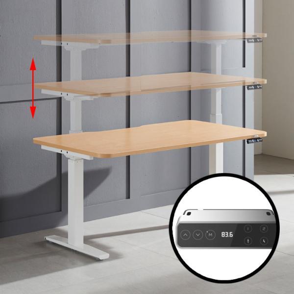 [랜선할인]전동 높이조절 스탠딩책상 120CM PM401