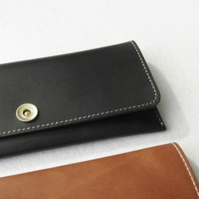 LOG Leather Pen case 천연가죽 필통 (오일풀업가죽)